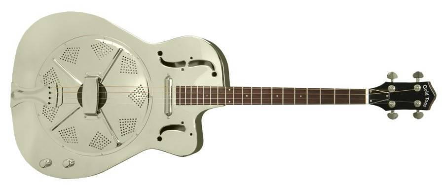 gold tone mbt metal body tenor guitar long mcquade musical instruments. Black Bedroom Furniture Sets. Home Design Ideas