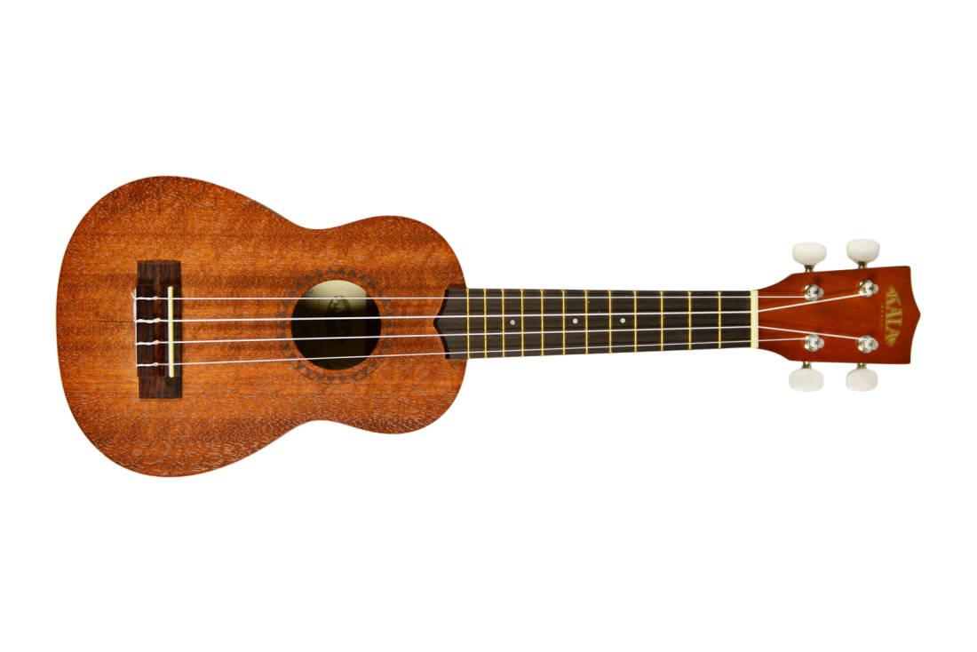 Kala Mahogany Soprano Ukulele (no Binding) - Long u0026 McQuade Musical Instruments