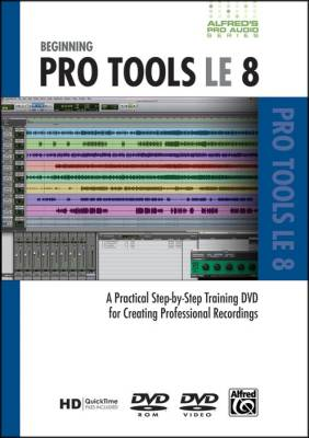 Beginning Pro Tools Le 8 (dvd)