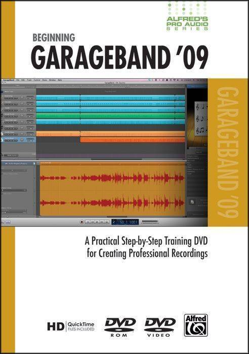 how to add music to a voice track garage band