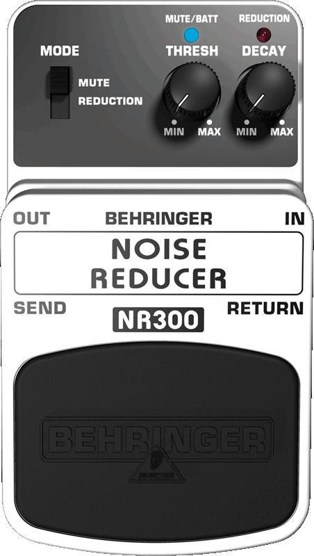 behringer nr300 ultimate noise reduction pedal long mcquade musical instruments. Black Bedroom Furniture Sets. Home Design Ideas
