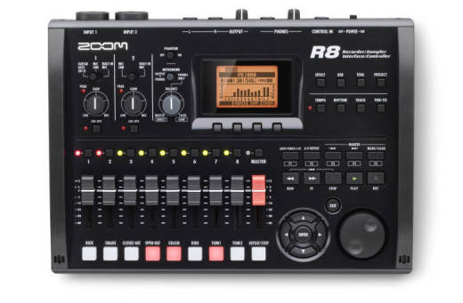 8-Track Digital Recorder/Interface/Controller/Sampler