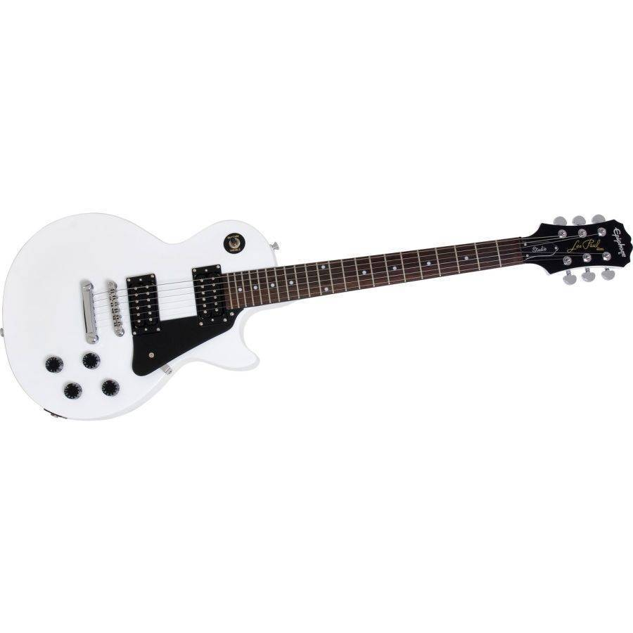 epiphone les paul studio alpine white long mcquade musical instruments. Black Bedroom Furniture Sets. Home Design Ideas