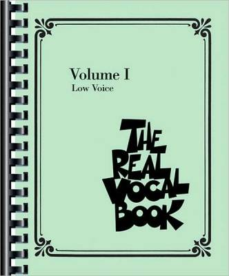 The Real Vocal Book - Volume I - Low Voice