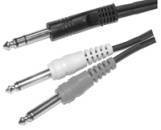 Link Audio - Link Audio 1/4 TRS to 2x 1/4 Mono Y-Cable - 10 foot