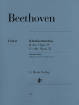 G. Henle Verlag - Clarinet Trios B flat major op. 11 and E flat major op. 38 - Beethoven /Klugmann /Raphael - Clarinet(or Violin) /Cello/Piano - Parts Set