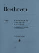 G. Henle Verlag - Piano Concerto no. 1 C major op. 15 - Beethoven/Kuthen/Kann - Piano/Piano Reduction (2 Pianos, 4 Hands) - Book