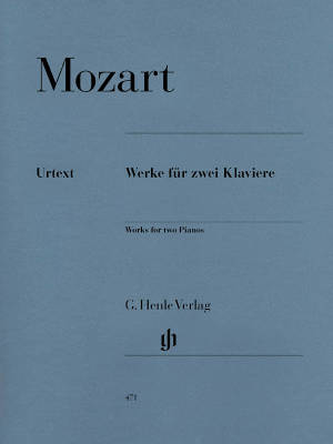 Works for two Pianos - Mozart/Seiffert - Piano Duet (2 Pianos, 4 Hands) - Book