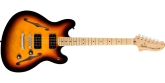 Squier - Affinity Series Starcaster, Maple Fingerboard - 3-Tone Sunburst