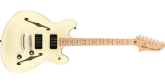 Squier - Affinity Series Starcaster, Maple Fingerboard - Olympic White