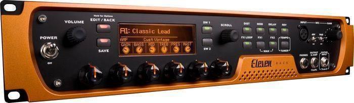 Avid Eleven Rack Guitar Multi Effects Processor W Pro