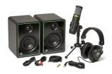 Mackie - Creator Bundle with Studio Monitors, USB Condenser Microphone and Headphones