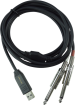 Behringer - Stereo 1/4 Line In to USB Interface Cable