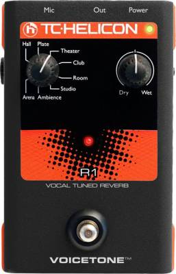 VoiceTone R1 Vocal Tuned Reverb Pedal