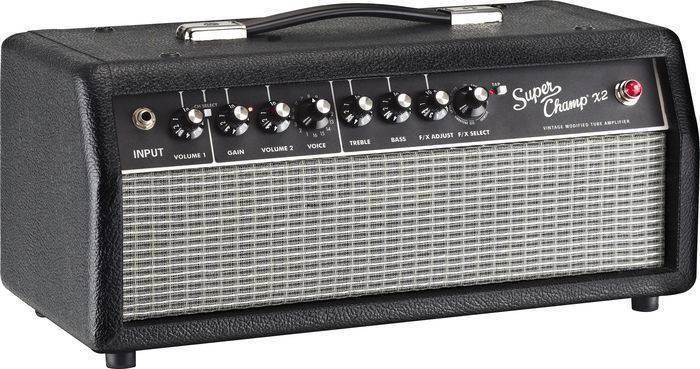 Fender Fender Super Champ X2 Head Long Amp Mcquade Musical