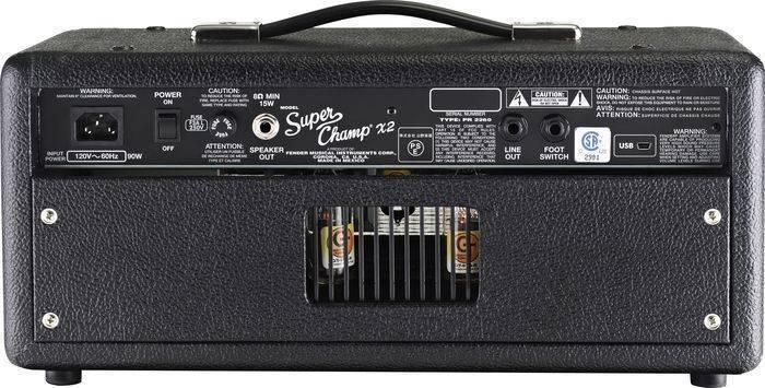 fender fender super champ x2 head long mcquade musical instruments. Black Bedroom Furniture Sets. Home Design Ideas