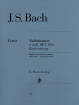 G. Henle Verlag - Violin Concerto a minor BWV 1041 - Bach/Eppstein/Guntner - Violin/Piano Reduction - Sheet Music