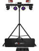 Chauvet DJ - GigBAR Move 5-in-1 Lighting System with Stand, Bag and Remote