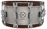 Pacific Drums - Concept Select 6.5x14 Snare - 3mm Aluminum with Walnut Wood Hoops