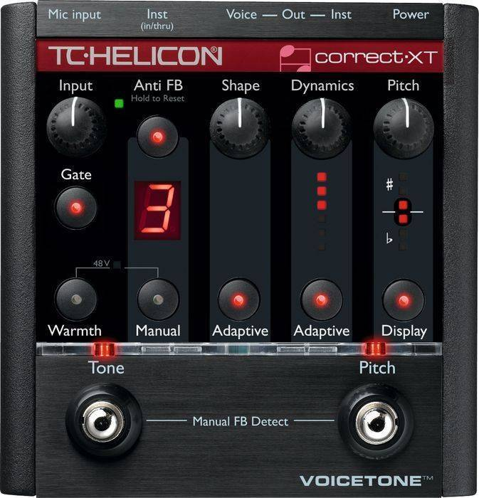 tc helicon voicetone correct xt pitch correction pedal long mcquade musical instruments. Black Bedroom Furniture Sets. Home Design Ideas