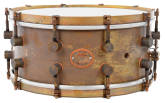 A&F Drum Co. - A&Fers Bell Series 6.5x14 Snare - Raw Brass