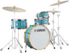 Yamaha - Stage Custom Hip 4-Piece Shell Pack (20, 10, 13FT, 13SN) - Matte Surf Green