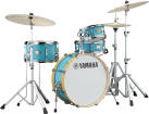 Yamaha - Stage Custom Hip 4-Piece Kit with Hardware (20, 10, 13FT, 13SN) - Matte Surf Green