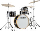 Yamaha - Stage Custom Hip 4-Piece Kit with Hardware (20, 10, 13FT, 13SN) - Raven Black