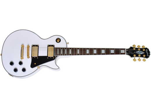 LP Custom Pro - Alpine White with Gold Hardware