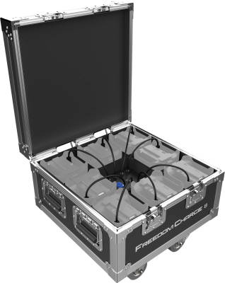 Chauvet DJ - Freedom Charge 8 Compact Road Case/Charger for Freedom Series Pars