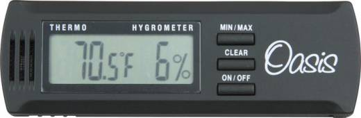 Digital Hygrometer w/ Case Clip