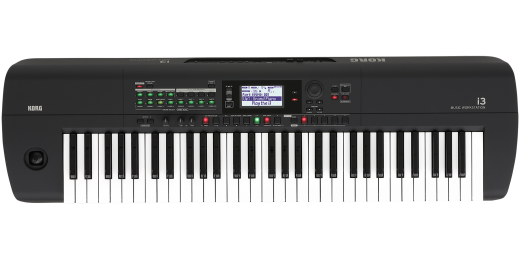 i3 61-Key Beginner Music Workstation - Matte Black
