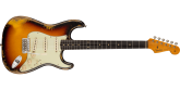 Fender Custom Shop - 1960 Stratocaster Heavy Relic with Rosewood Fingerboard - Faded Aged 3-Colour Sunburst