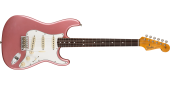 Fender Custom Shop - 1964 Stratocaster Journeyman Relic - Faded Aged Burgundy Mist Metallic