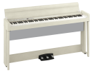 Korg - C1 Air Digital Piano w/Speakers, Stand and Bench - White Ash