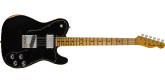 Fender Custom Shop - Limited Edition 70s Telecaster Custom Relic, Maple Fingerboard - Aged Black