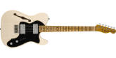 Fender Custom Shop - Limited Edition 72 Telecaster Thinline Journeyman Relic, Maple Fingerboard - Aged White Blonde