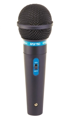 Hand Held Dynamic Microphone w/ 1/4-inch Cable
