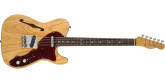 Fender Custom Shop - Limited Edition 60s Tele Thinline Journeyman Relic, Rosewood Fingerboard - Aged Natural