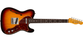 Fender Custom Shop - Limited Edition 60s Tele Thinline Journeyman Relic, Rosewood Fingerboard - Aged 3-Tone Sunburst