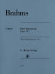 G. Henle Verlag - Three Intermezzi op. 117 Brahms/Eich/Boyde - Piano - Book