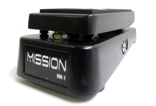 Mission Engineering Volume Pedal w/Mute Tuner Out - Black