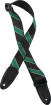 Levys - Spirit Series 2 Poly Guitar Strap - Black/Green