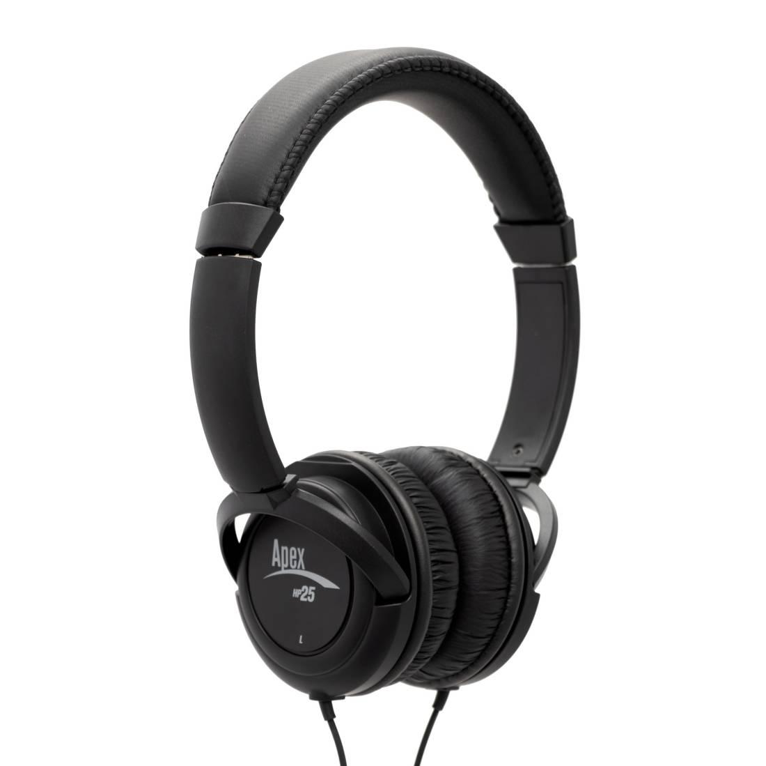 Semi Open Headphones : apex hp25 semi open headphone long mcquade musical instruments ~ Hamham.info Haus und Dekorationen
