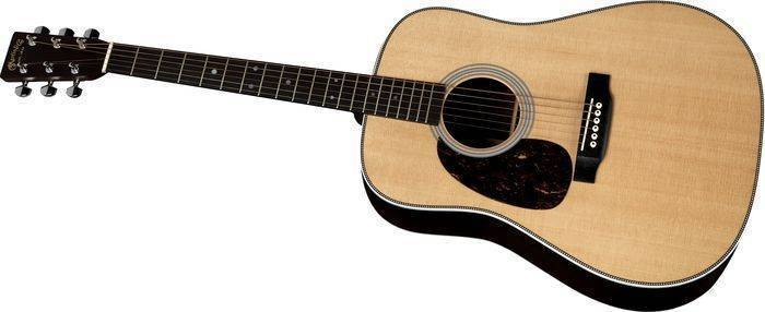 martin guitars hd 28 herringbone dreadnought acoustic guitar w case left long mcquade. Black Bedroom Furniture Sets. Home Design Ideas