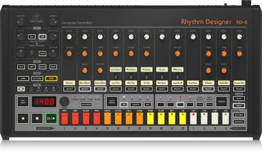 Behringer - Rhythm Designer RD-8 Analog Drum Machine