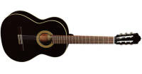 Almansa - A-403 Classical Guitar - Cedar/Laminated Mahogany, Black Finish