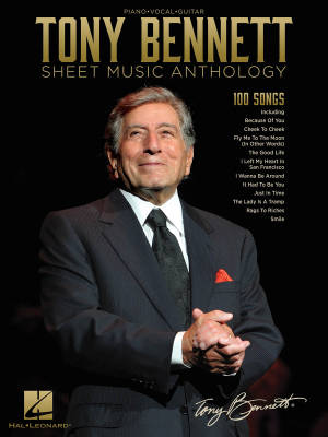 Hal Leonard - Tony Bennett Sheet Music Anthology - Bennett - Piano/Vocal/Guitar - Book