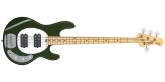 Sterling by Music Man - StingRay4 HH Bass Guitar - Olive