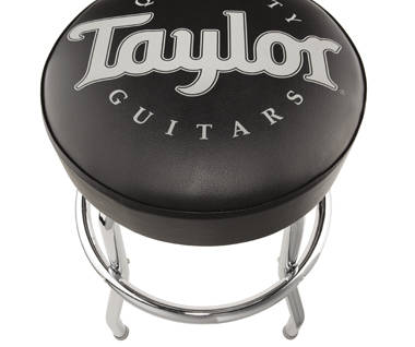 Taylor Guitars Taylor Bar Stool Black Long Amp Mcquade